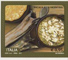 ITALIE Gastronomie-Bacala....1v 2017  Neuf ** MNH - 1946-.. République