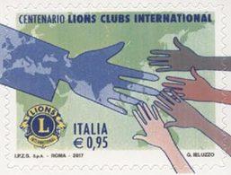 ITALIE Lions Club International 1v 2017 Neuf ** MNH - 2011-...:  Nuevos