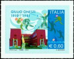 ITALIE Giulio Onesti - Escrime 1v Neuf ** MNH - 2011-...: Neufs