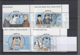 Bund Michel Kat.Nr. Gest 2836/2839 SSt - BRD