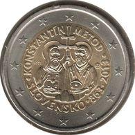 SQ20013.1 - SLOVAQUIE - 2 Euros Commémo. Mission De Cyrille Et Méthode - 2013 - Slovaquie