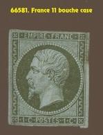 1c  N° 11. Neuf Et Plié.   Cote 75-euros. Comme Bouche Case - 1853-1860 Napoléon III.