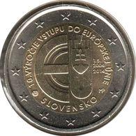 SQ20014.1 - SLOVAQUIE - 2 Euros Commémo. Adhésion à L'Union Européenne - 2014 - Slovaquie