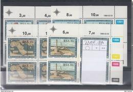 RSA Michel Cat.No. Mnh/** 721/724  Cylinder Bloc - África Del Sur (1961-...)