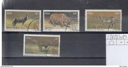 RSA Michel Cat.No. Used 500/503 - África Del Sur (1961-...)