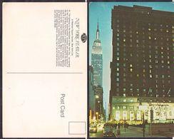 New York NY - Post Card - New York Statler - Circa 1950 - Non Circulee - Cygnus - Manhattan