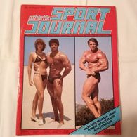 Old MAGAZINE JOURNAL 1979. ATHLETIK SPORT JOURNAL Body Building Arnold Schwarzenegger - Sports