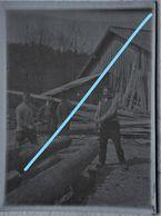 Photo SOLWASTER Région SPA JALHAY NIVEZE HEUSY Scierie Troncs D'arbres Bûcherons 1912 - Lieux