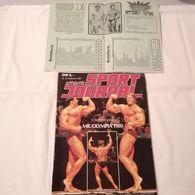 Old MAGAZINE JOURNAL 1981. ATHLETIK SPORT JOURNAL Body Building Arnold Schwarzenegger - Sports