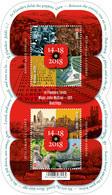 Blok 269**  België 2018  Grand Guerre Commémoration / Nooit Meer Oorlog! - Blocks & Sheetlets 1962-....