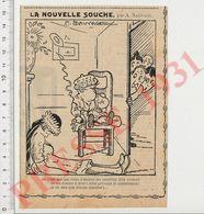 Presse 1931 Humour Bébé Tétée Nourrice Métier Allaitement Enfant Terrible Meurtrier CHV35 - Zonder Classificatie