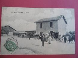 MARTIGUES  ( 13 ) N ° 580  La Gare - Martigues