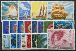 Polynesie Annees Completes (1977) N 115 A 118 Et PA 114 A 129 (Luxe) - Polynésie Française
