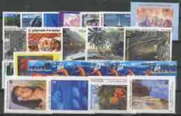 Polynesie Annees Completes (1994) N 450 A 471 (Luxe) - Polynésie Française