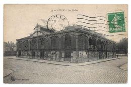 Cpa 59 Lille - Les Halles - Lille