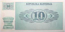 Slovaquie - 10 Tolarjev - 1990 - PICK 4a - SPL - Slovénie