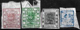 736 - CHINA + SHANGAI - 1878 - FORGERIES, FALSES, FALSCHEN, FAKES, FALSOS - Colecciones (sin álbumes)