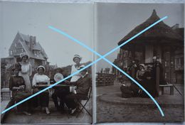 Photox2 DUINBERGEN Naast Blankenberge Zeebrugge Knokke 1912 Kust - Lieux