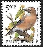 Belgium - MNH -  1993 :      Eurasian Jay  -  Garrulus Glandarius - Songbirds & Tree Dwellers