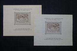 FRANCE - 2 Blocs En Souvenir Du Siège De Paris 1870-1871- Pas Courant - P 22830 - 1927-1959 Briefe & Dokumente