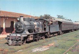 Paraguay Gare Train Ypagaray Ligne Encarnacion Asuncion - Paraguay