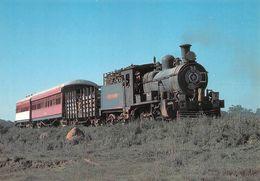 Paraguay Gare Train Villarica Perez Cardozo Ligne Encarnacion Asuncion - Paraguay