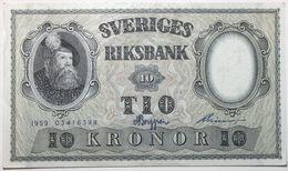Suède - 10 Kronor - 1959 - PICK 43g - SPL - Suède
