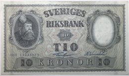 Suède - 10 Kronor - 1962 - PICK 43i - SPL - Suède