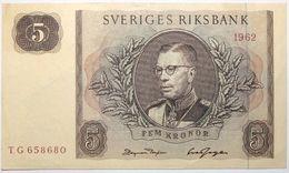 Suède - 5 Kronor - 1962 - PICK 50a - SPL - Suède