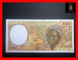 C.A.S CENTRAL AFRICAN STATES Gabon 2.000 2000 Francs 2000  P. 403 L  UNC- - États D'Afrique Centrale