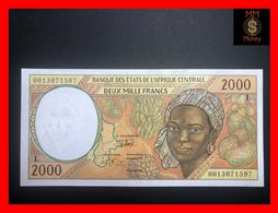 C.A.S CENTRAL AFRICAN STATES Gabon 2.000 2000 Francs 2000  P. 403 L  UNC- - Central African States