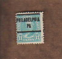 "USA. (Y&T) 1922-25 - N°238. * R. Hayes*   * 11c * Obl ""Philadelphia"" - United States"