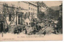 Toulon-Le Marché Et L'Eglise Saint-Jean - Toulon