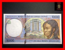 C.A.S CENTRAL AFRICAN STATES Equatorial Guinea  10.000 10000 Francs 2000  P. 505 N  UNC- - États D'Afrique Centrale
