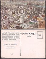 New York NY - Post Card - Pennsylvania Section Looking Toward East River - 1938 - Non Circulee - Cygnus - Multi-vues, Vues Panoramiques