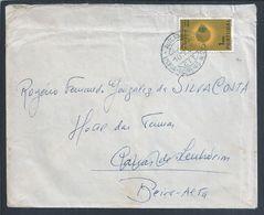 Obliteração Da Auto - Ambulância Lisboa, Barreiro, Alcochete Em 1965. Canas De Senhorim. Stamp Ano Internacional Do Sol - 1910-... République