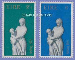 EIRE IRELAND 1971  CHRISTMAS S.G. 309-310  U.M. - Nuovi