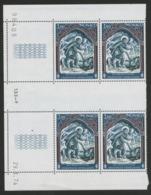 """MONACO N° 956 Cote 7.6 € Bloc De 4 Neuf ** (MNH) Avec Coin Daté Du 29/1/74 """"Croix Rouge Monégasque"""" TB/VG - Monaco"""