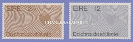 EIRE IRELAND 1972  WORLD HEALTH YEAR S.G. 311-312  U.M. - Nuovi