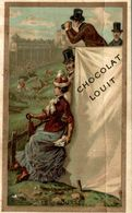 CHROMO CHOCOLAT LOUIT LES COURSES - Louit