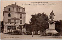 Besançon - Statue Jeanningros - Nouvel Hotel -  CPA ° - Besancon