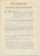 Staatsblad 1929 : Autobusdienst Alkmaar - Bergen - Petten - Documenti Storici