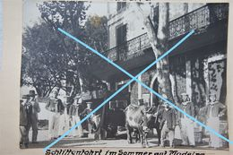 Photox4 MADEIRA German Military Sailor Circa 1912 Spain Oud Street - Plaatsen