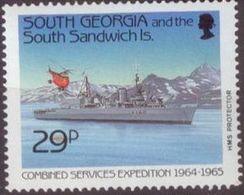 SouthGeorgia 1989 Mi#182 MNH Cv Eur2.2 Ships - Georgia Del Sud