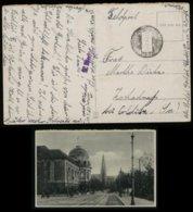 WW II DR Feldpost Polen Militär Postkarte AK Posen : Gebraucht 2. Werft Kompanie Posen - Colditz 1940 , Bedarfserhaltu - Allemagne