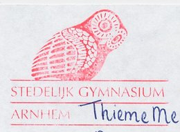 Meter Cut Netherlands 2001 Bird - Owl - Unclassified