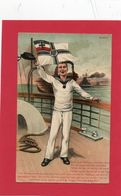 Carte Souvenir D'un Marin Allemand - Weltkrieg 1914-18
