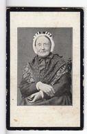 Doodsprentje VROUW FEMME Blandina VAN DE VEIRE °1826 SOMERGEM +1908 SOMERGEM // DE VOGELAERE - Images Religieuses
