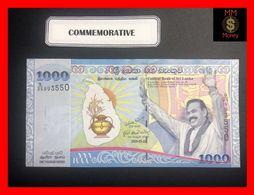 Ceylon - Sri Lanka  1.000  1000 Rupees  20.5.2009  P. 122  *COMMEMORATIVE*  UNC - Sri Lanka