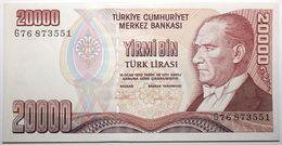Turquie - 20000 Livres Turques - 1995 - PICK 202 - NEUF - Turchia